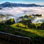 天空の棚田賞「天空の夜明け」白木和夫