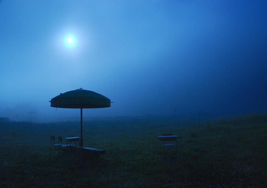 「蒼い夜明け」 川村香代
