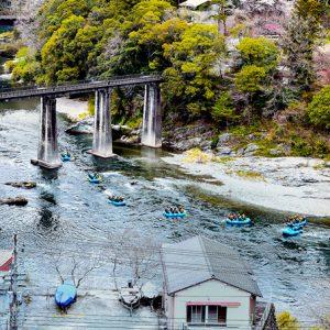 入選1「吉野川の休日」川村香代