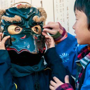 入選「祭りの顔」 川村 香代
