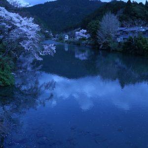 入選「清流の春」 松本 勝作